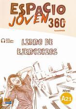 """""""ESPACIO JOVEN 360 A2.1"""", шпански језик, радна свeска"""