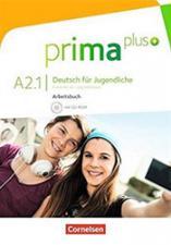 """PRIMA PLUS A2.1"", нeмачки jeзик, радна свeска"